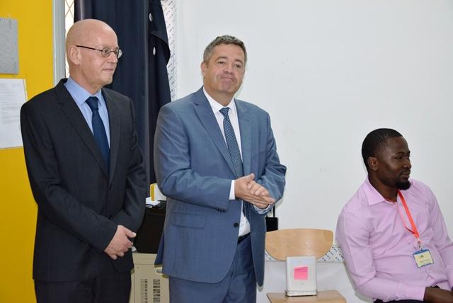 laurent cadic proviseur Brazzaville